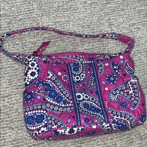 Vera Bradley Purse in Boysenberry Print Once Used